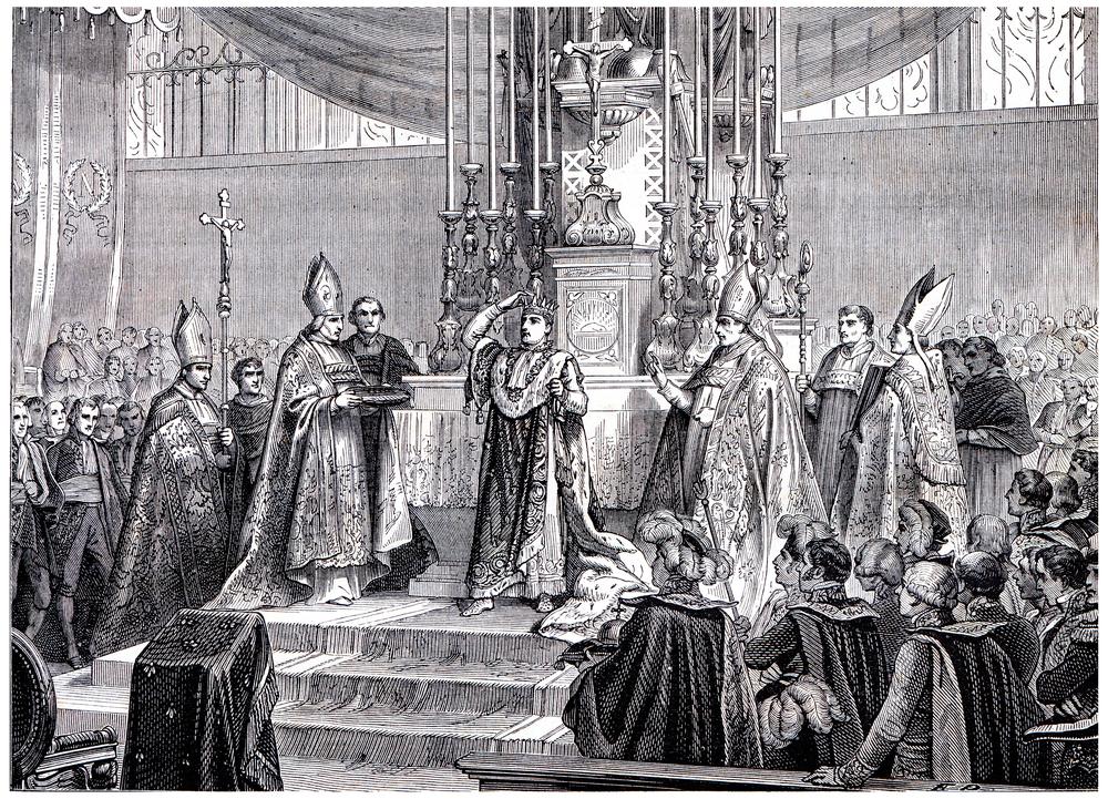 Napoleon Kaiserkrönung
